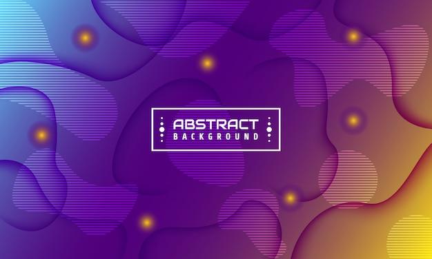 Futuristischer abstrakter hintergrund. abbildung 3d mit geometrischem element.