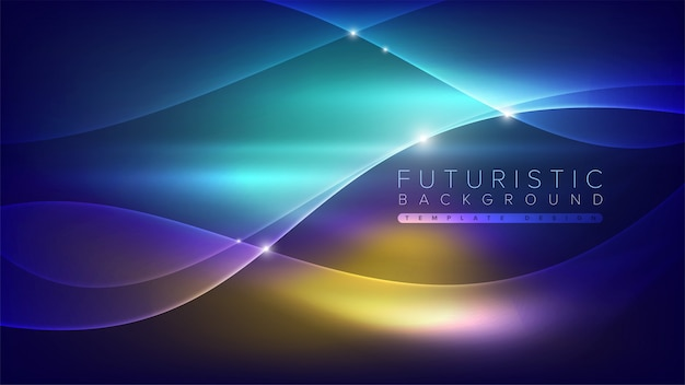 Futuristischer abstrakter hintergrund