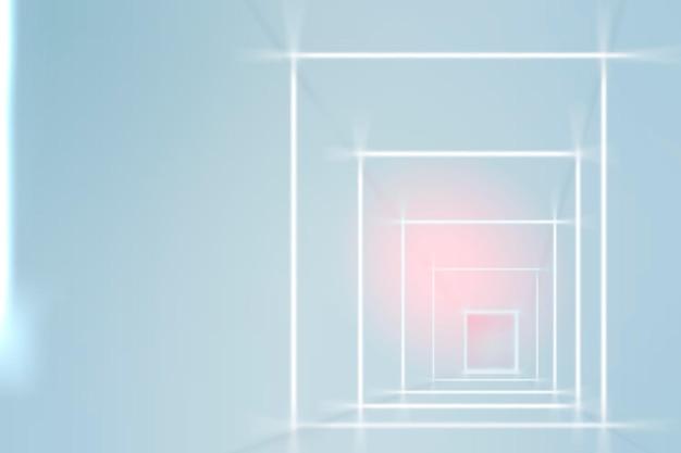 Futuristischer gehweghintergrund in blauton