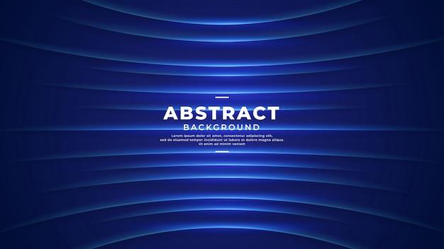 Futuristischer hintergrund der technologie mit blauer farbe