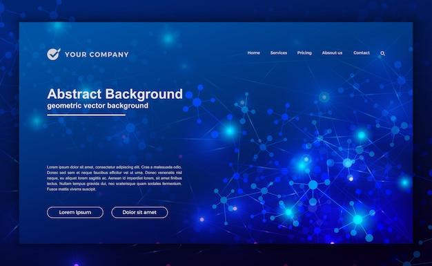Futuristischer hintergrund für website-design.