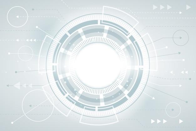 Futuristischer technologie-bildschirmschoner