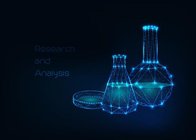 Futuristischer wissenschaftlicher hintergrund