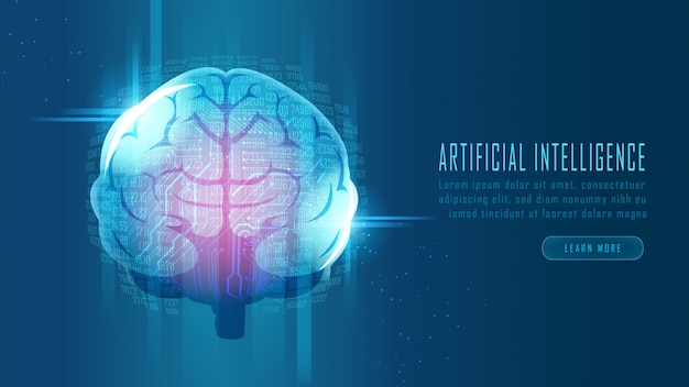 Futuristisches gehirn für künstliche intelligenz