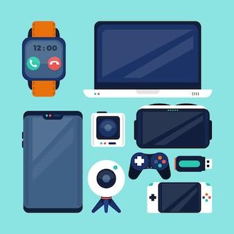 Gadget icon sammlung