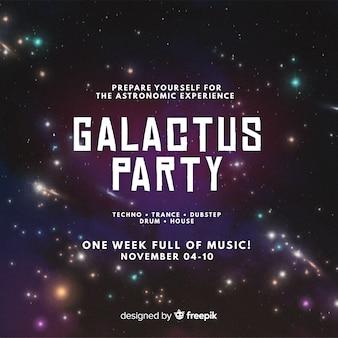 Galactus-party