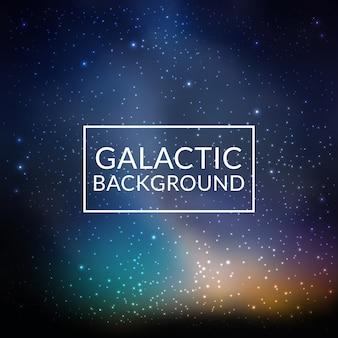 Galaktischer hintergrund