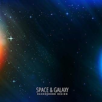 Galaxie und raum hintergrund