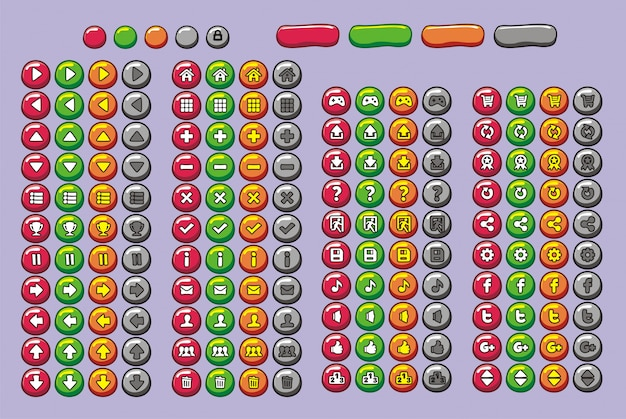 Game-interface-tasten für spiel und app eingestellt