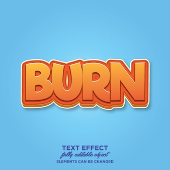 Game styel text-effekt