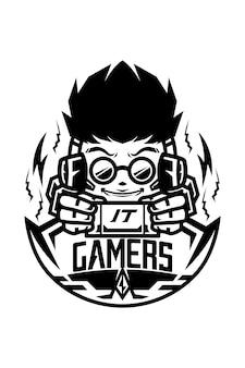 Gamers black version