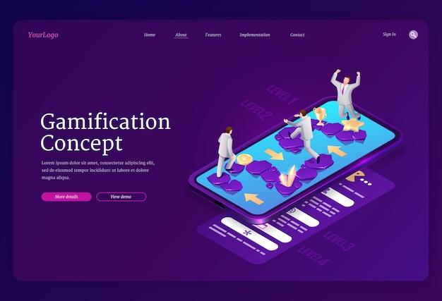 Gamification-landingpage