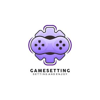 Gaming-logo einstellen