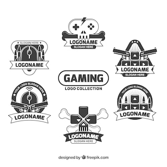 Gaming logos sammlung