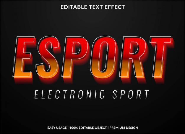 Gaming-text-effekt