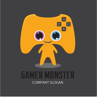 Gammer monster logo