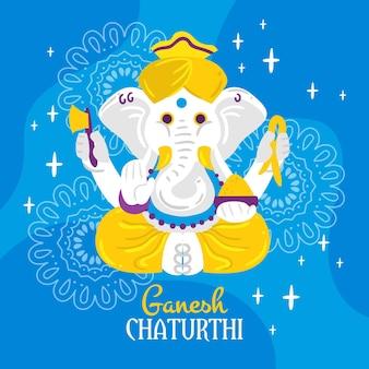 Ganesh chaturthi konzept