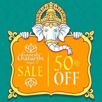 Ganesh chaturthi verkäufe