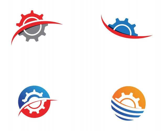 Gang-logo-schablonenvektor-ikonenillustration