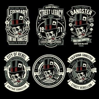 Gangster-abzeichen