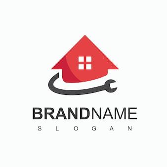 Garagen-logo, service-center-symbol