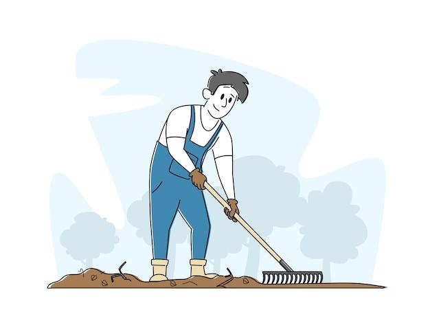 Garten- und landwirtschaftskonzept