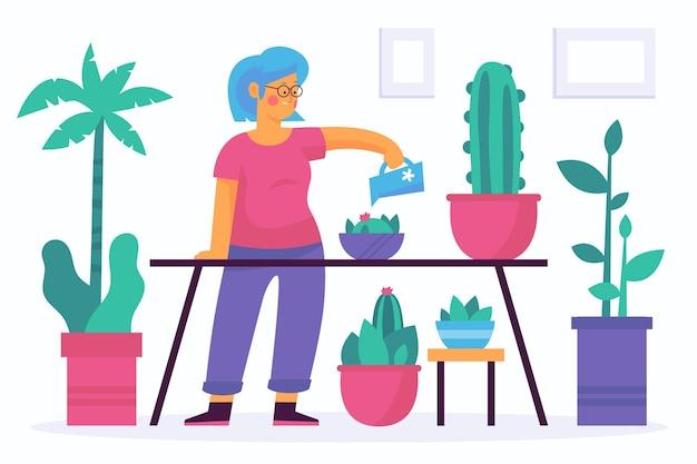 Eingemachte Blumen Schaufel Und Dünger Garten Sonne Himmel  Vektor-Illustration Lizenzfrei Nutzbare Vektorgrafiken, Clip Arts,  Illustrationen. Image 91480194.