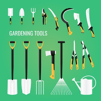 Gartengeräte-ausrüstungsset