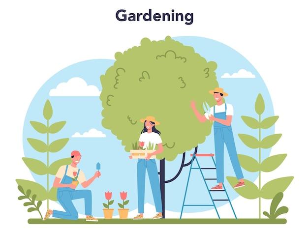 Gartenkonzept