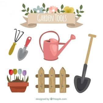 Gartenzubehör zu pflegen