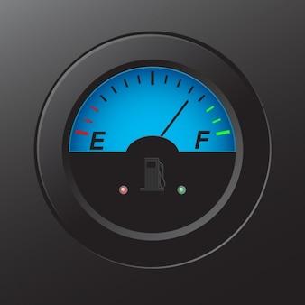 Gas-anzeige design