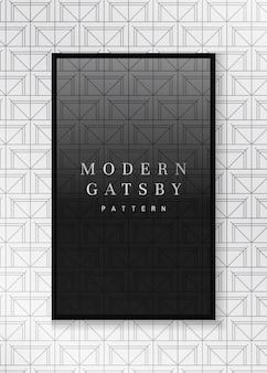 Gatsby gemusterter rahmen