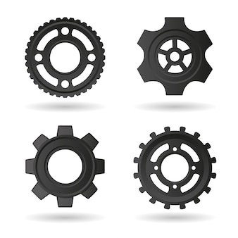 Gear icons sammlung