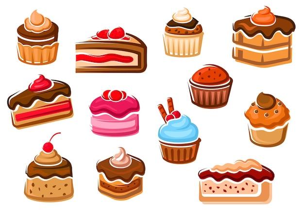 Gebäck, bäckerei und süßwaren
