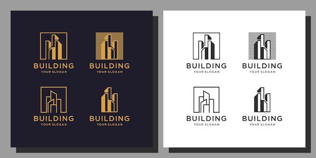 Gebäude logo design