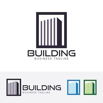 Gebäude, logo-vorlage