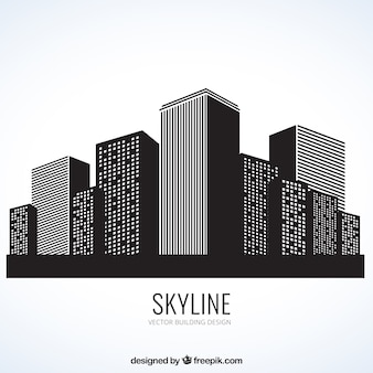 Gebäude skyline