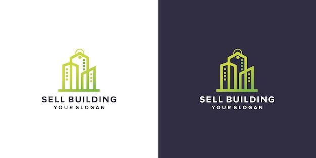 Gebäudelogo-design verkaufen
