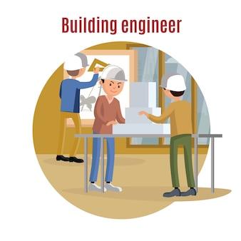 Gebäudetechnik-konzept
