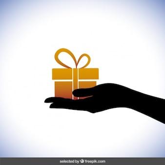 Geben geschenk