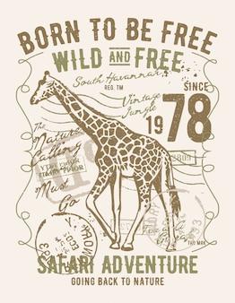 Geboren, um frei, wild und frei zu sein