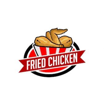 Gebratenes hähnchen logo