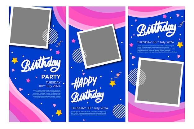 Geburtstag instagram geschichten vorlage