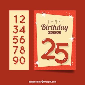 Geburtstag kartenvorlage