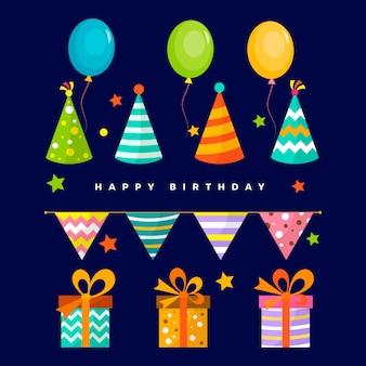 Geburtstagsdekoration sammlung