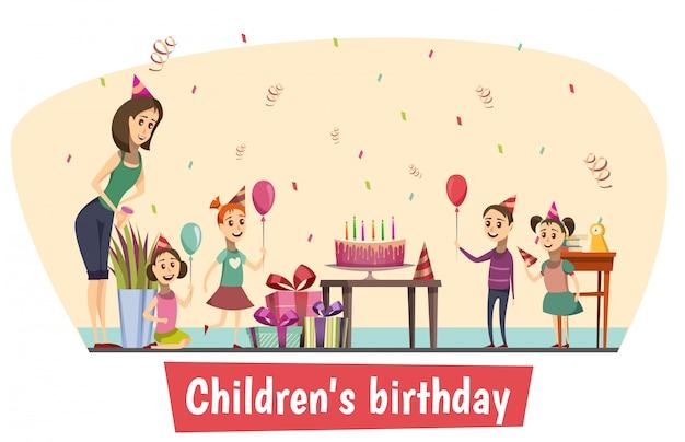 Geburtstagsfeier zusammensetzung