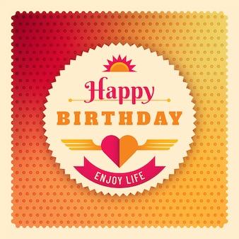 Geburtstagskarte design