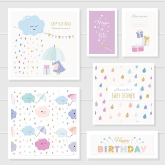 Geburtstagskarten festgelegt