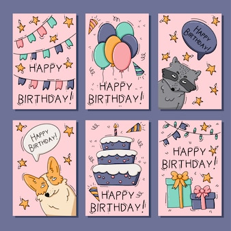 Geburtstagskarten mit tieren