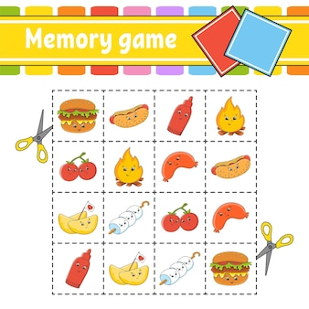 Gedächtnisspiel für kinder